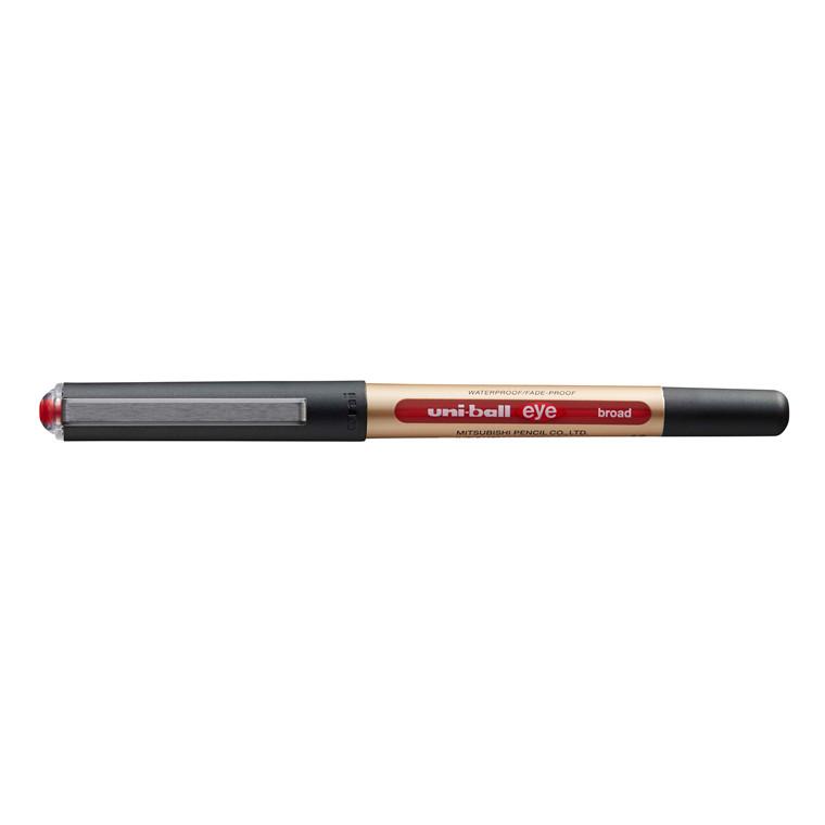 Rollerpen Uni-ball Eye Broad rød stregbr. 1mm