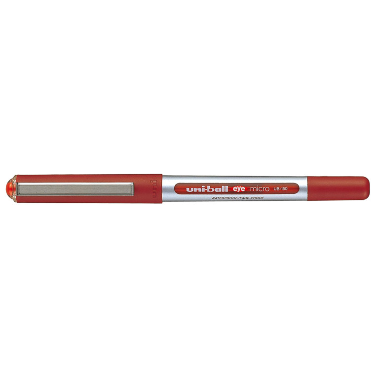 Uni-ball Eye Micro UB150 - Rød rollerpen 0,2 mm