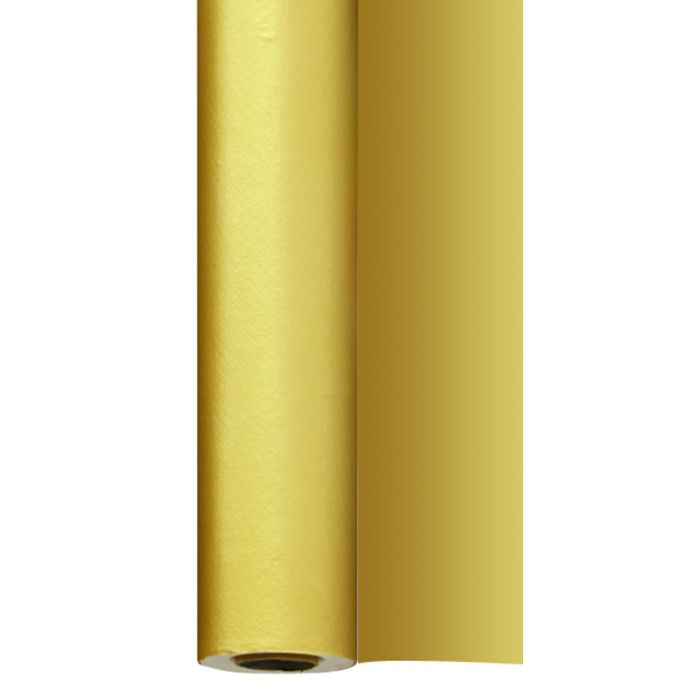 Rulledug, Dunisilk+, guld,  125cm x 2.500cm,