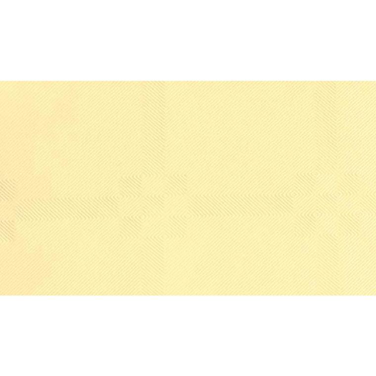Rulledug, Gastro-Line, damask, creme, 100% genbrugsfibre,  118cm x 5.000cm,