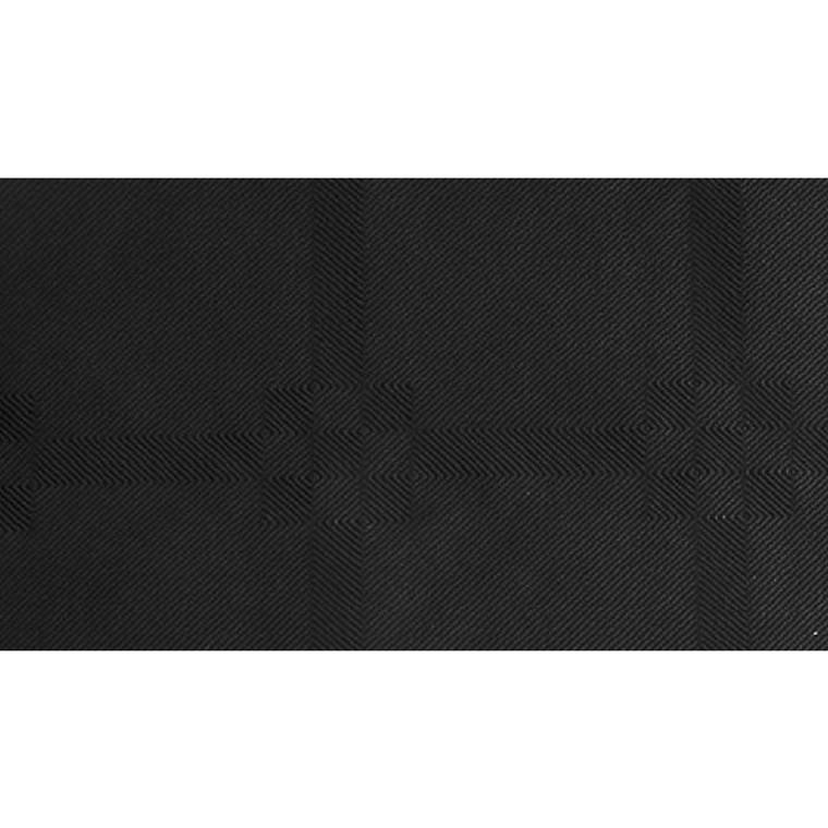 Rulledug, Gastro-Line, damask, sort, 100% genbrugsfibre,  118cm x 5.000cm,