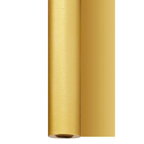 Rulledug guld 25 x 1,20 meter - Dunisilk+