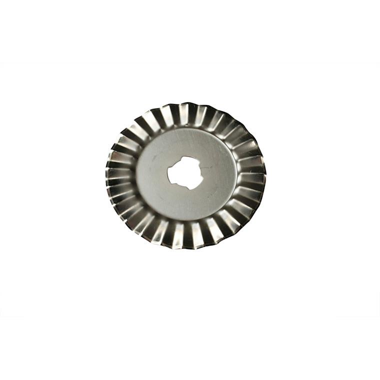 Rulleskæreblad 45 mm | takket kant