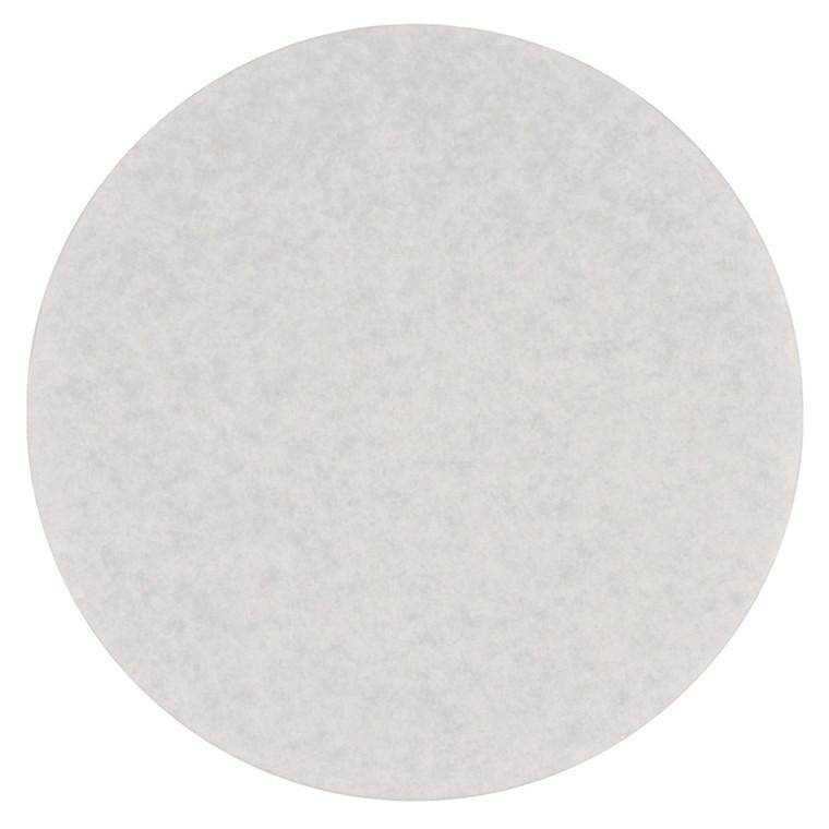 Rundfilter, hvid, Ø 172mm, 1.000 stk