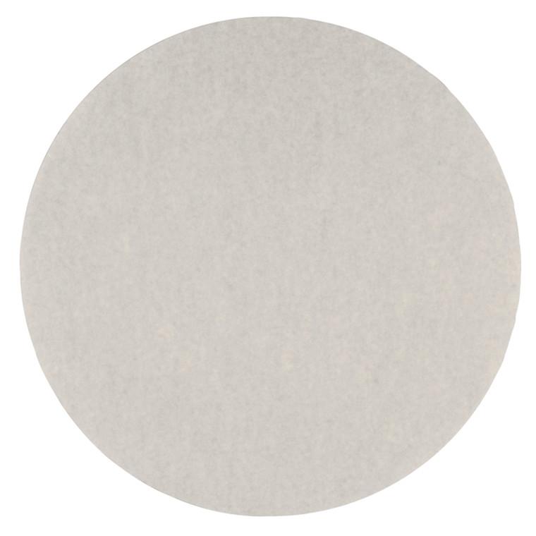 Rundfilter, hvid, Ø 330mm, 500 stk