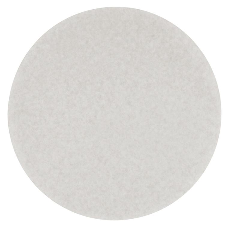 Rundfilter, Ø24,4cm, filterpapir, bleget