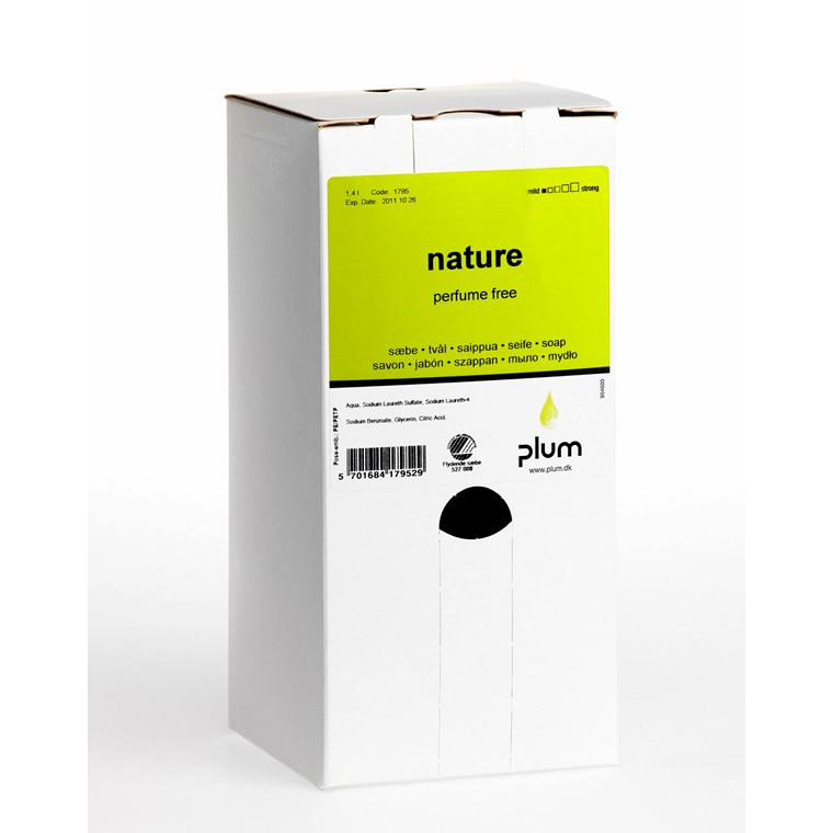 Sæbe Plum Nature bag-in-box 8x1,4l/dnk 1795