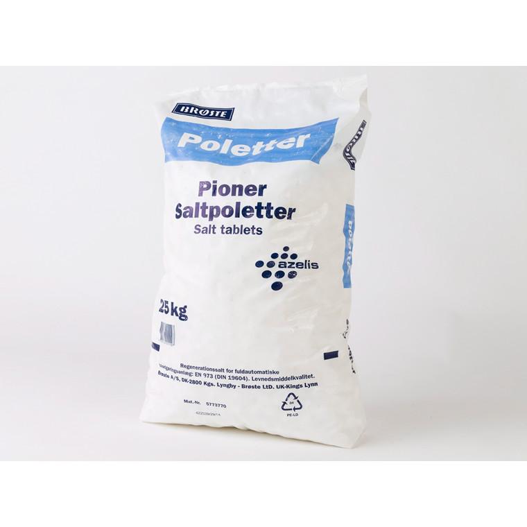 Salttabletter til opvaskemaskine - 25 kg sæk