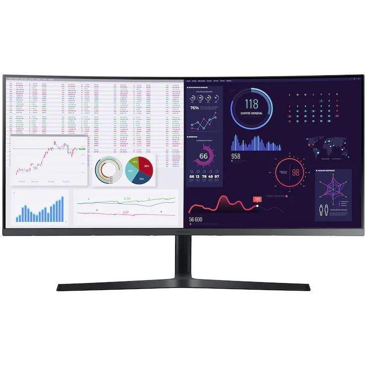 Samsung 34'' Business Monitor C34H890WJU, Black