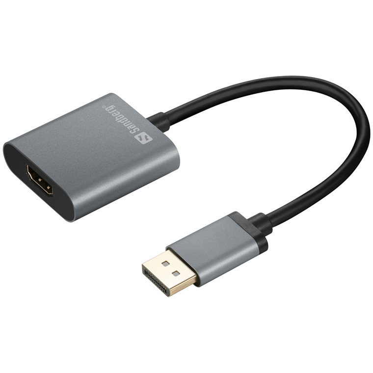 Sandberg Adapter DP1.4>HDMI2.0 4K60