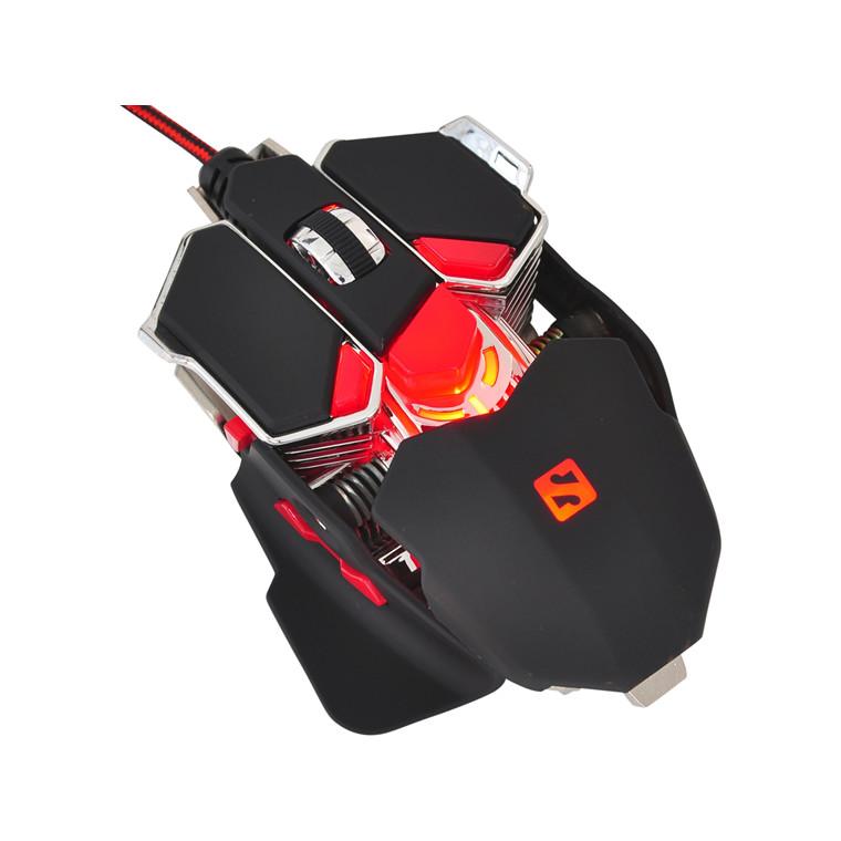 Sandberg Blast Gaming Mouse, black/red