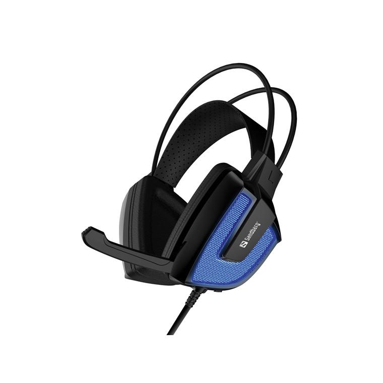 Sandberg Derecho Headset, black/blue