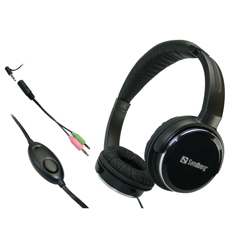 Sandberg Home'n Street Headset, Black