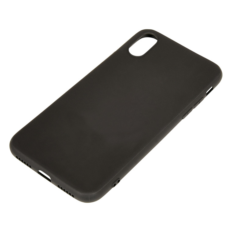 Sandberg iPhone X Cover soft, Black