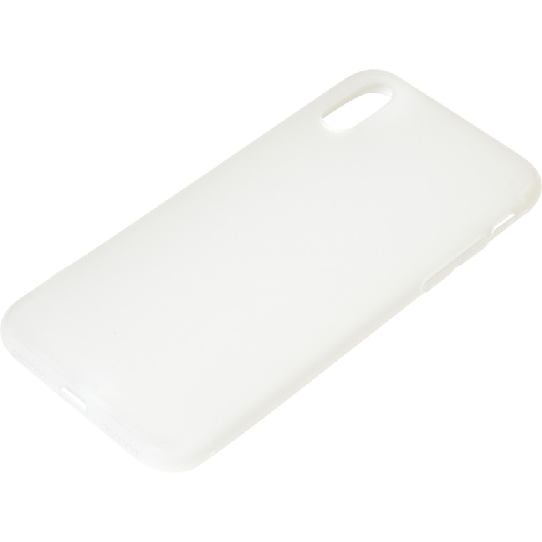 Sandberg iPhone X Cover soft, White