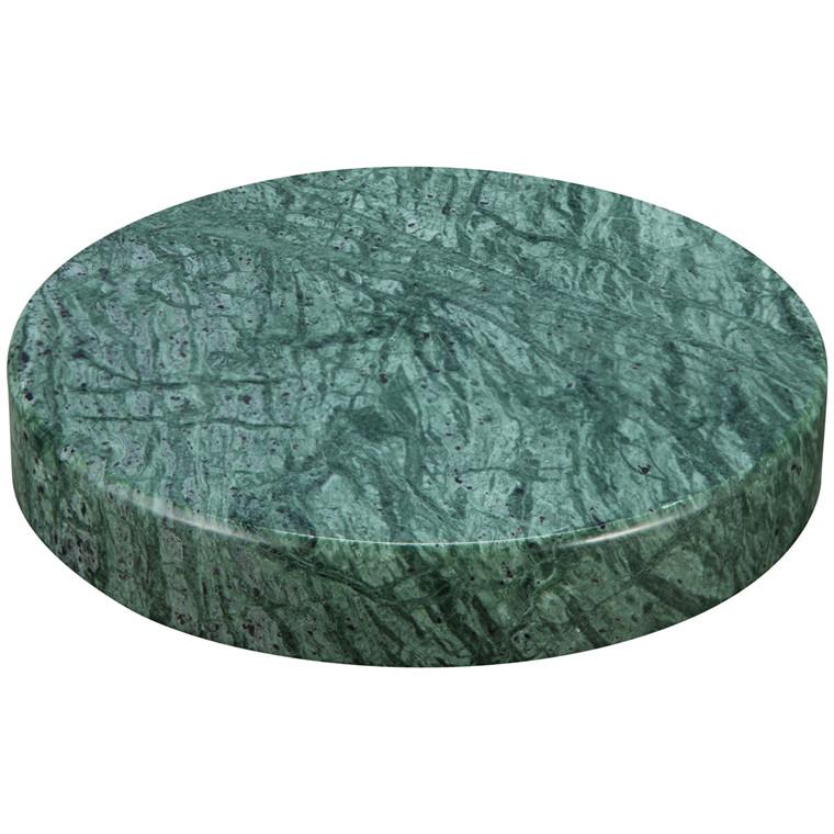 Sandberg Marble Stone Charger, Green