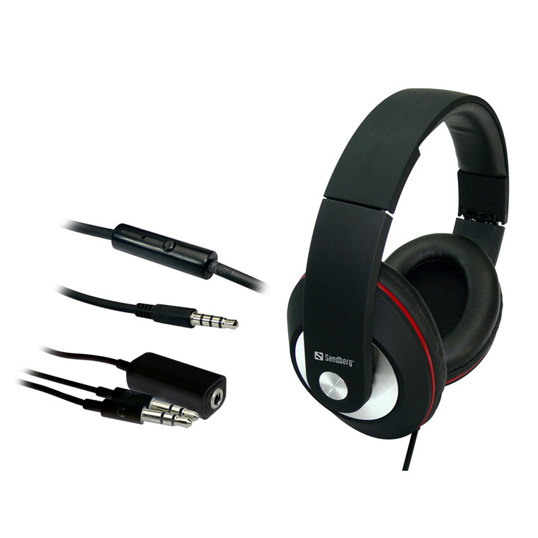 Sandberg Play'n Go Headset, Black