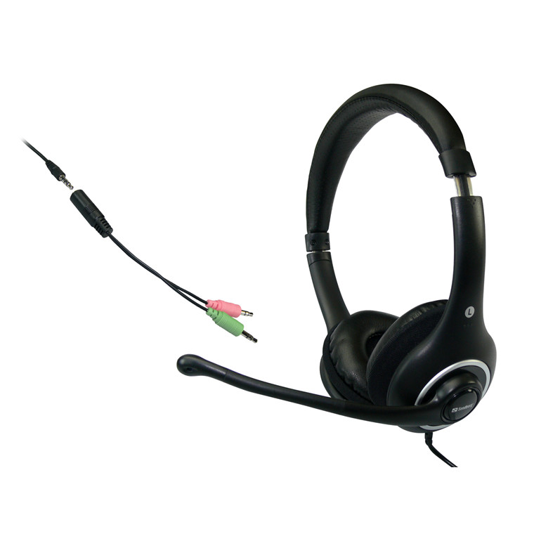 Sandberg Plug'n Talk Headset, Black