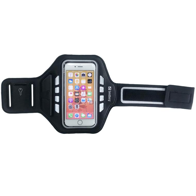 Sandberg Sport Armband LED 5.5'', Black