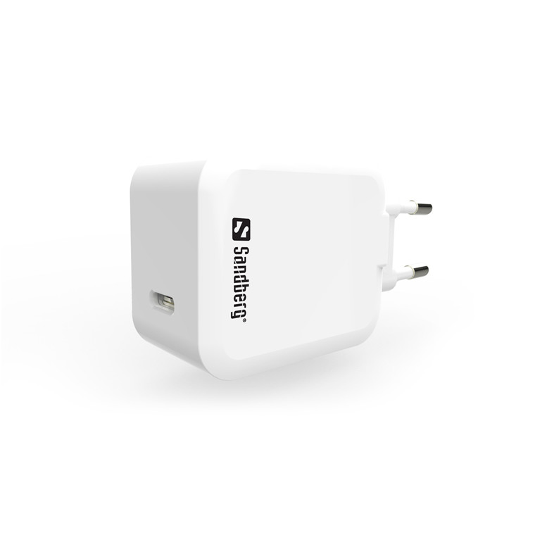 Sandberg USB-C AC Charger PD18W, White