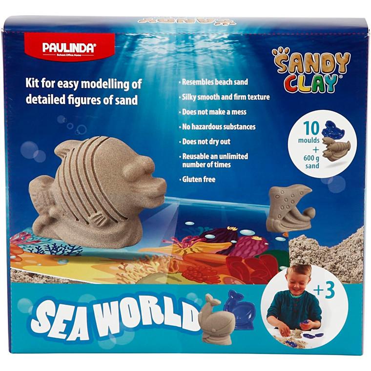 Sandy Clay®, natur, seaworld, 1sæt