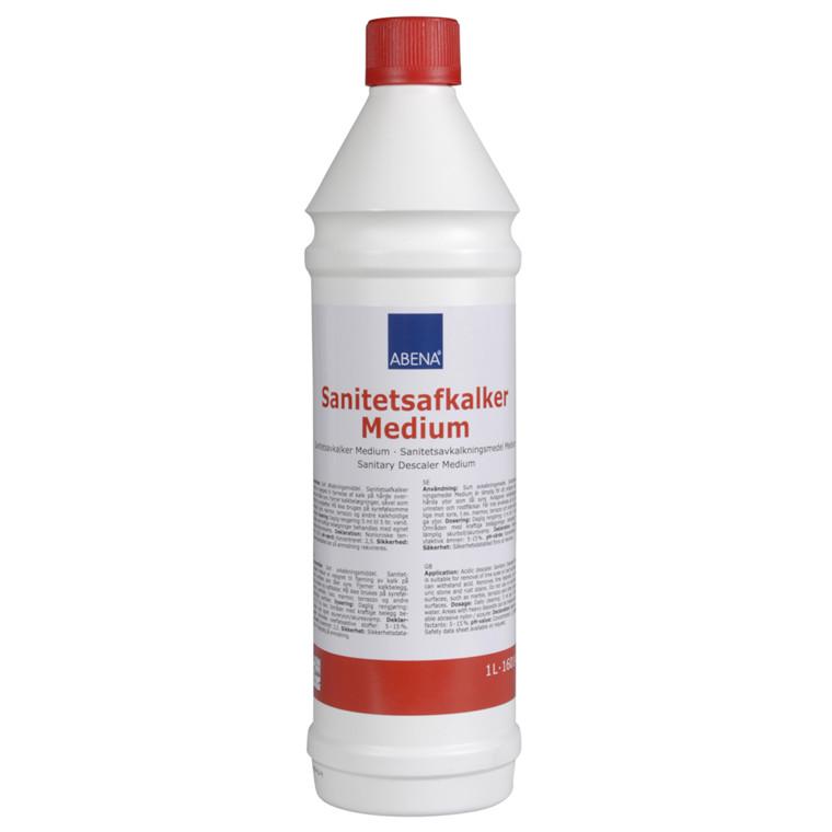 Sanitetsafkalker, medium, uden farve og parfume, 1 l