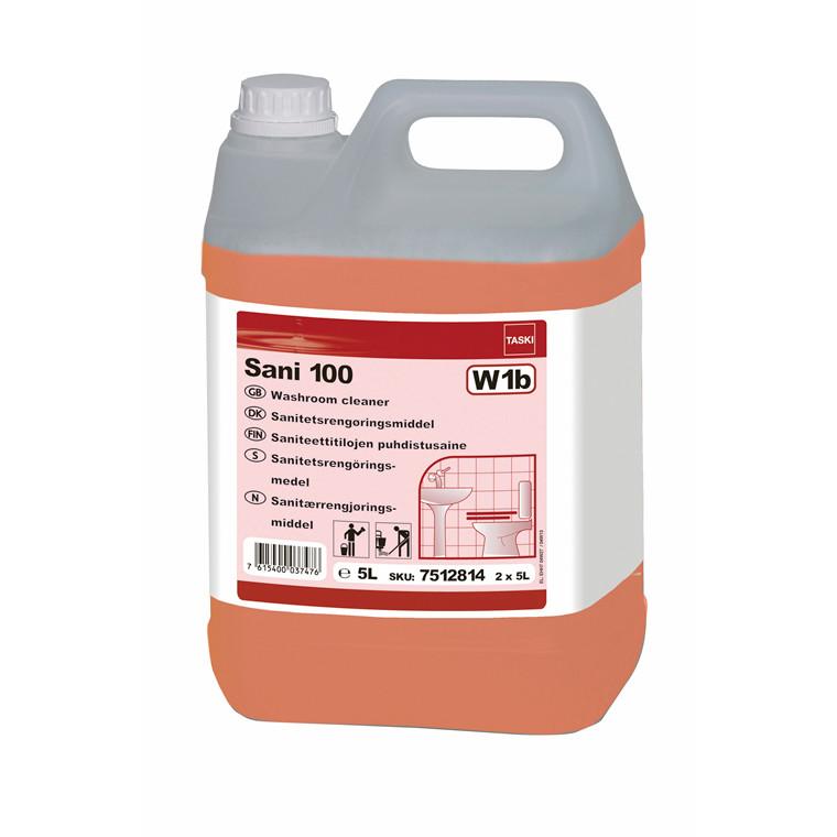 TASKI Sani 100 - Sanitetsrengøringsmiddel - 5 liter
