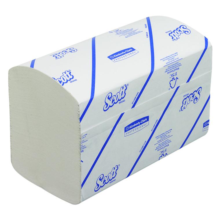 Scott håndklædeark 1-lags Bredde 20 cm | Længde 21 x 10,5 cm