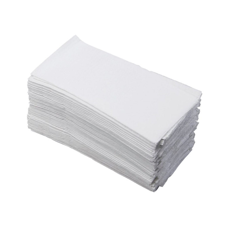 Serviet 1-lags 1/8 fold - hvid - 33 x 33 cm - 440 stk.