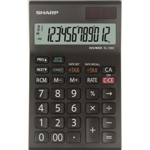 Sharp SHARP Bordsräknare EL-128CWH