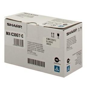 Sharp MXC30GTB cyan toner 6K
