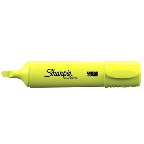 Sharpie Fluo XL - Gul Overstregningspen