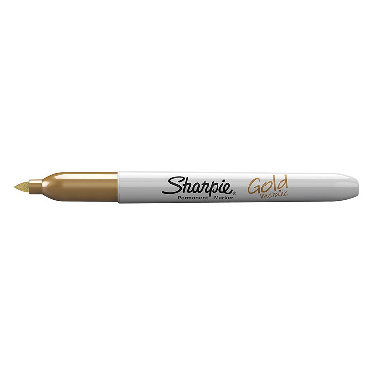 Sharpie Metallic 1,4 mm Permanent Marker - Guld