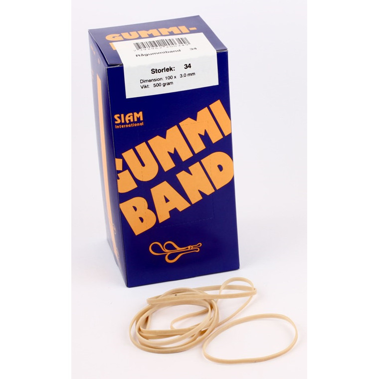 Siam Rubber bands 500 gram Nr.34