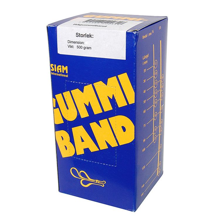 Siam Rubber bands 500 gram Nr.63