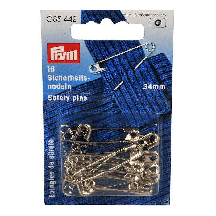 Sikkerhedsnål, Prym, Nr. 1, 34 mm
