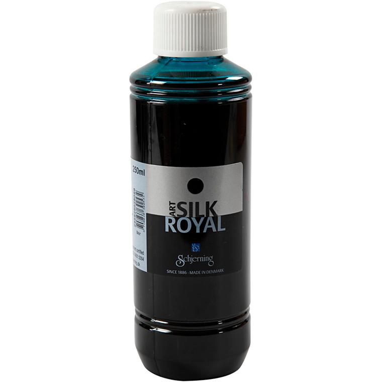 Silk Royal, blågrøn, 250ml