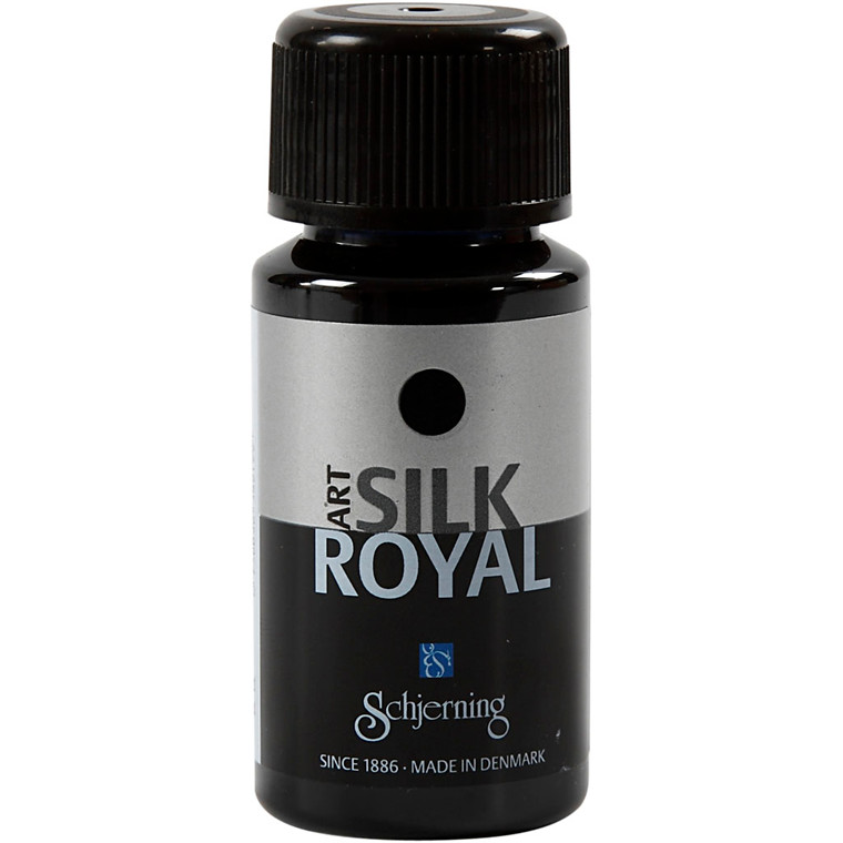 Silk Royal, brilliant blå, 50ml