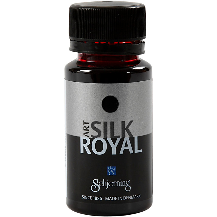 Silkemaling Rød - Silk Royal 50 ml