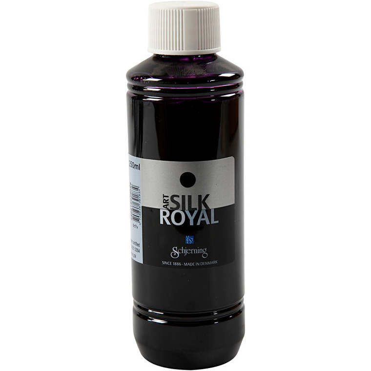 Silk Royal, rødviolet, 250ml