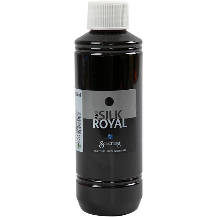 Silk Royal, sort, 250ml
