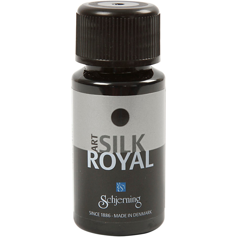 Silk Royal, sort, 50ml