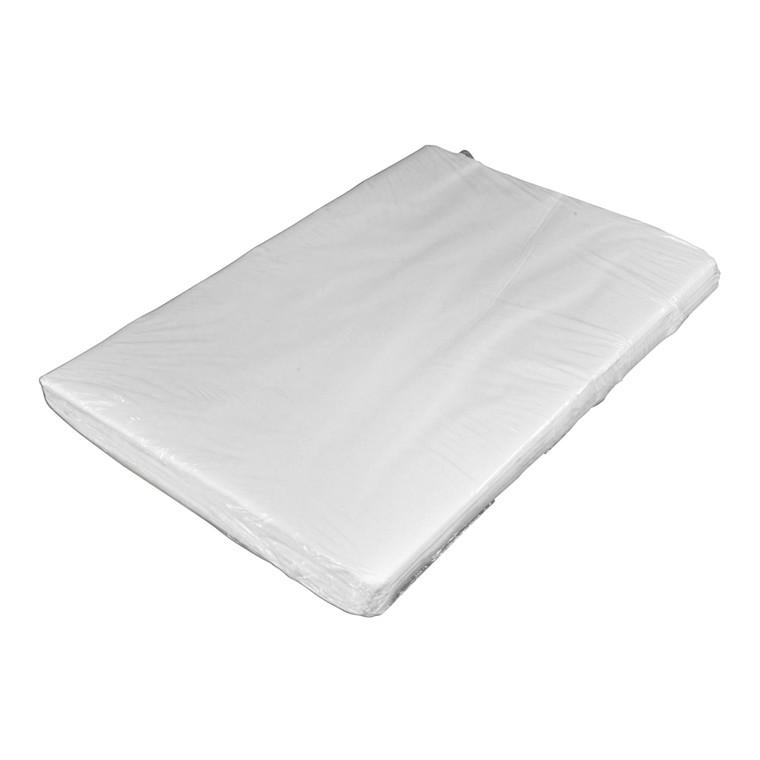 Silkepapir - i hvid 50 x 75 cm 17g 480ark/pak