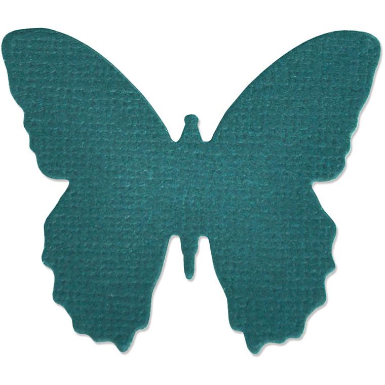 Sizzix Thinlit Skæreskabelon, str. 4,13x4,76 cm, lille sommerfugl, 1stk.