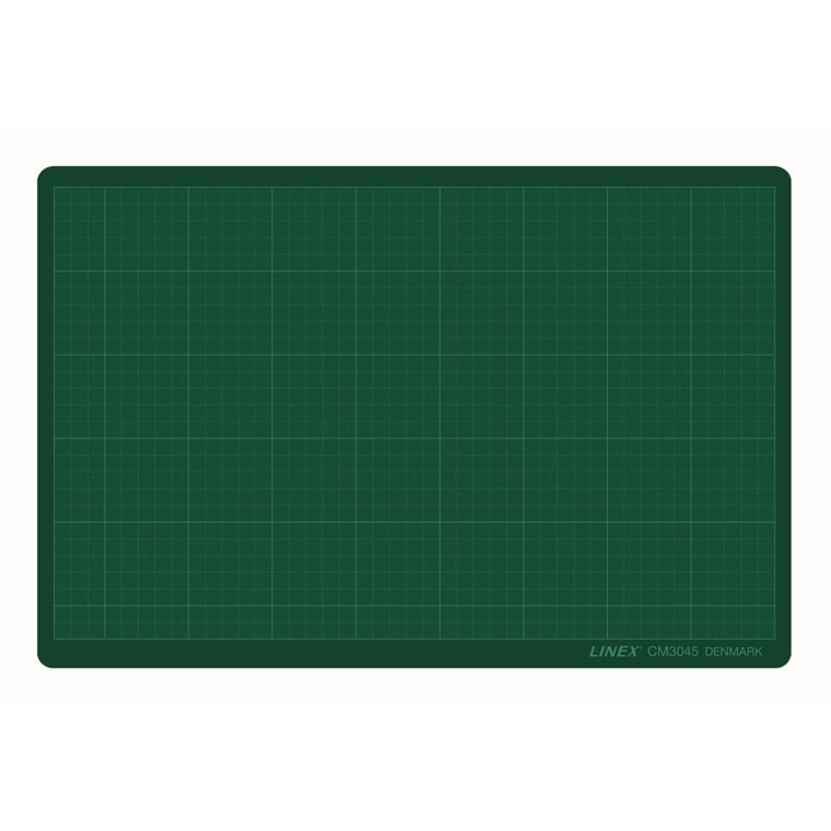 Skæreplade Linex i grøn 3 mm - CM 3045 A3 300 x 450 mm