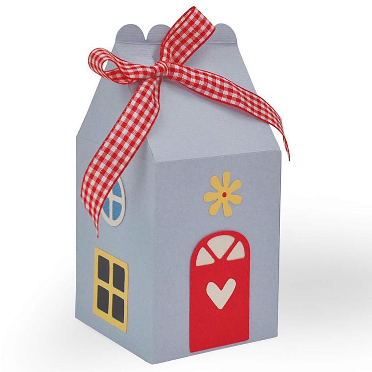 Skæreskabelon 1,27 x 0,95 - 13,02 x 14,60 cm | hus