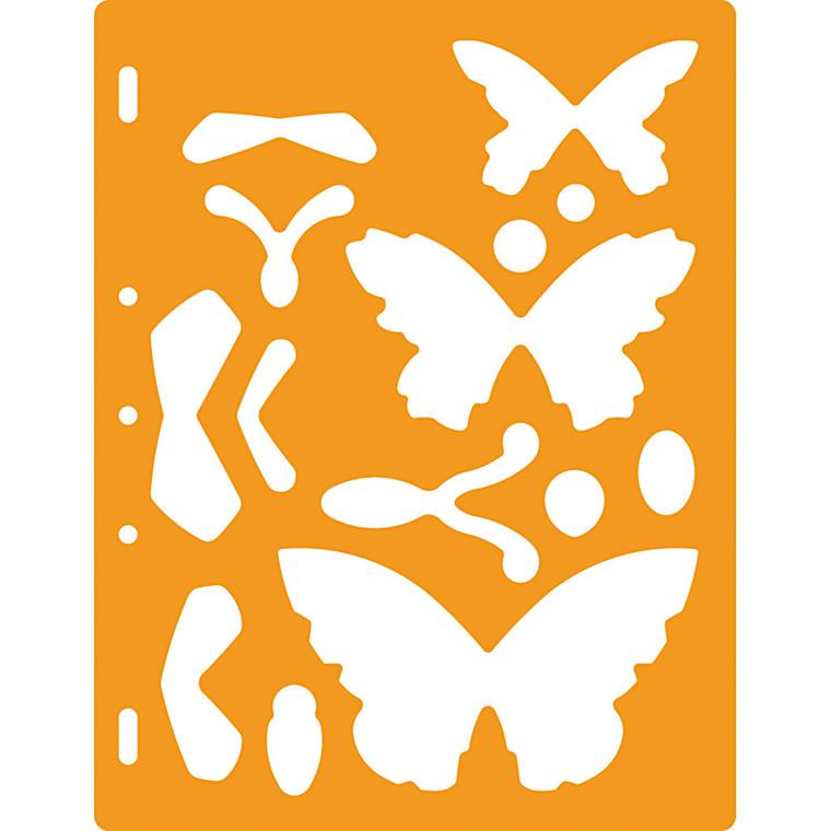 Skæreskabelon sommerfugle | Fiskars