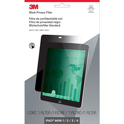 Skærmfilter 3M iPad mini 1, 2, 3 og 4 lodret