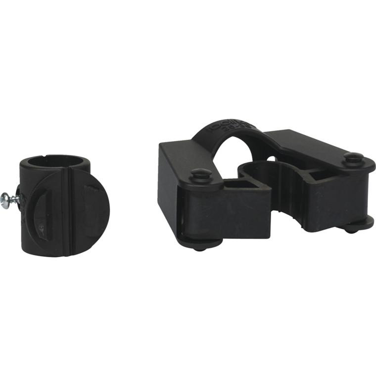 Skafteholder, Vikan, sort, til rør på 25-35 mm,