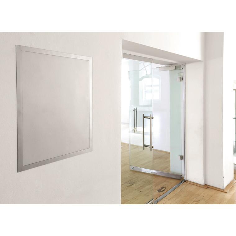 Skilt - 50 x 70 cm DURAFRAME® Poster med sølv ramme